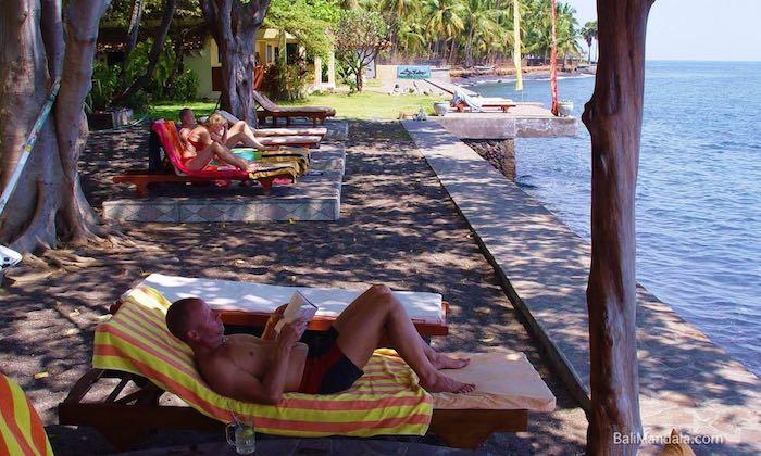 Bild Sonnenliegen Bali Mandala
