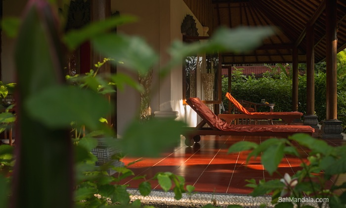 Bild Terrasse Zimmer Bali Mandala