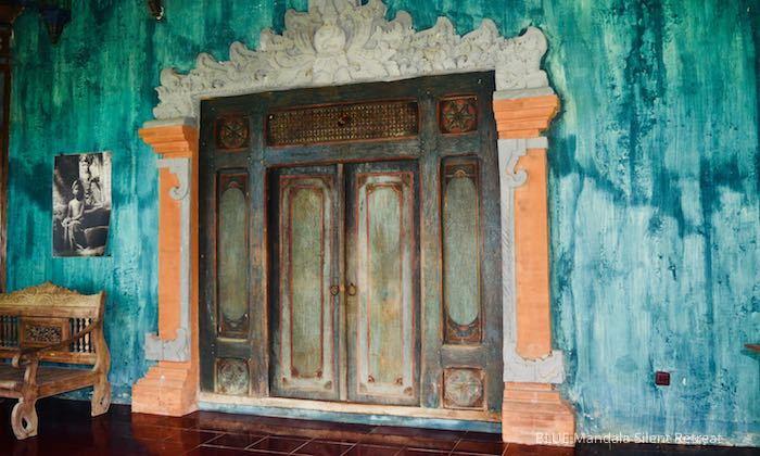 Türe Strandhaus Blue Mandala