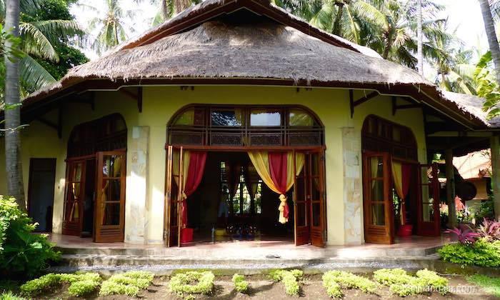 Bild Meditationshalle Bali Mandala