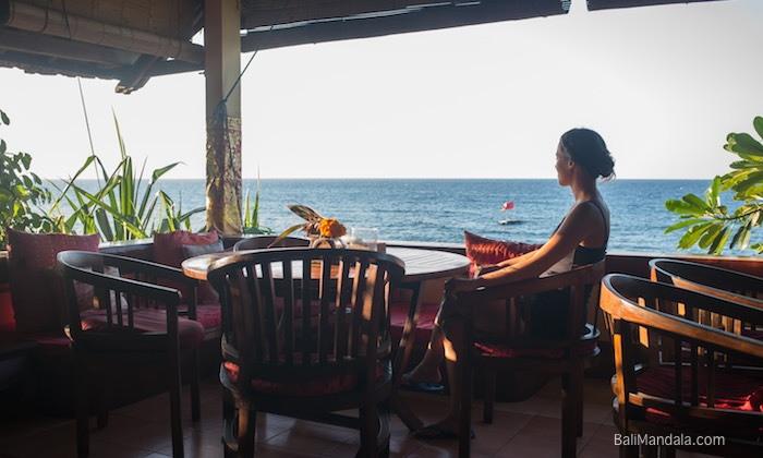 Restaurant Bali Mandala Meerblick