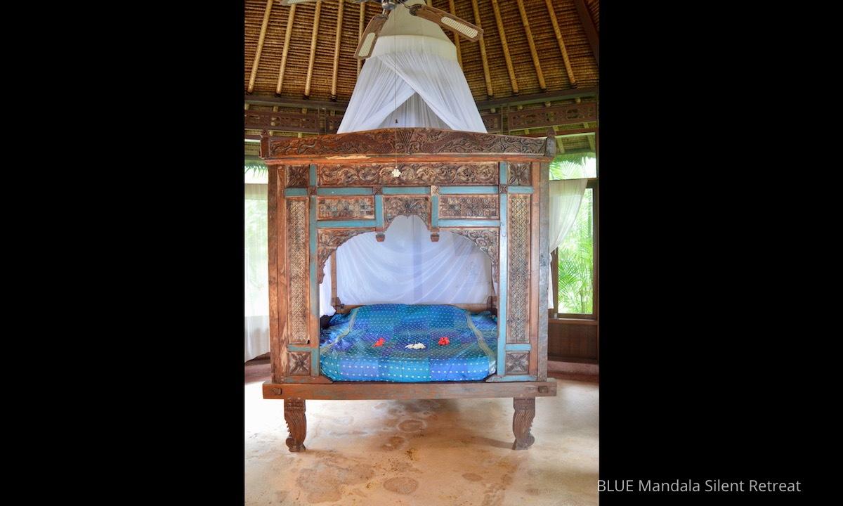 Blue Mandala Silent Retreat - a unique Silent Retreat in Bali.