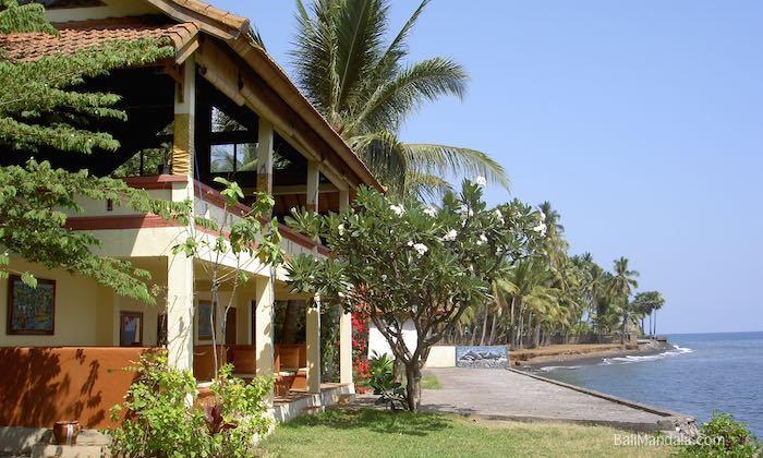 Bild Restaurant und Lounge Bali Mandala tags außen