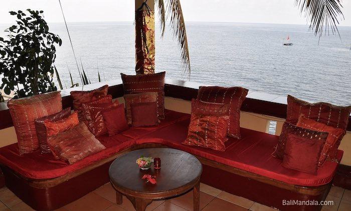 Bild Restaurant Sitzecke Bali Mandala