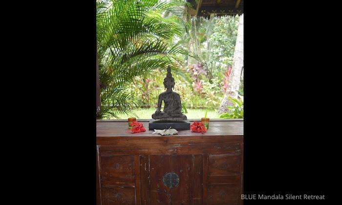 Truhe Mit Buddha Strandhaus Blue Mandala