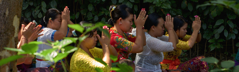 Bild Tempelzeremonie im Bali Mandala