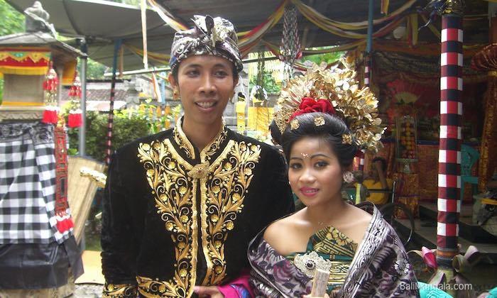 Bild Balinesische Hochzeit