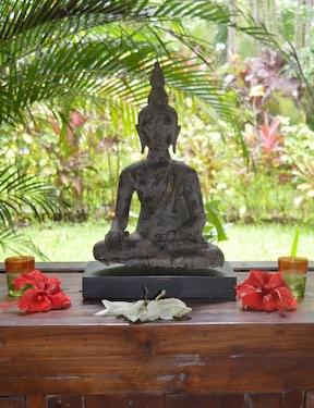 Buddha Blue Mandala Schweigeretreat