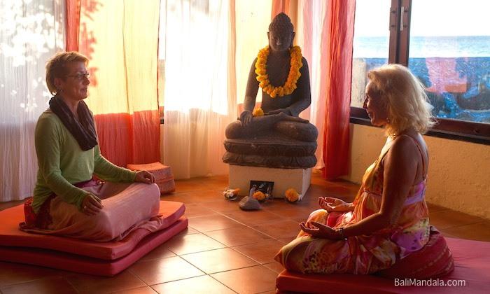 Bild Kontemplation Bali Mandala