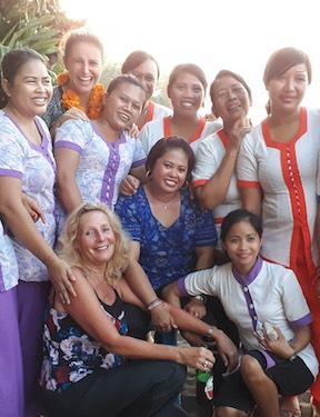 """Women party"" at Bali Mandala"