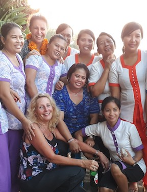 Mädelsparty Bali Mandala