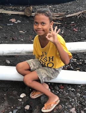 Child of Saraswati Mandala Environmental School