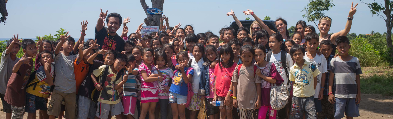 Schulprojekt Bali Mandala