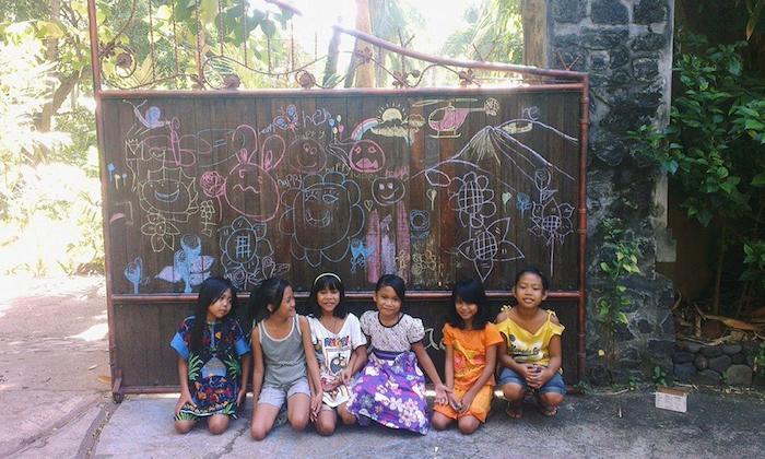 Schulprojekt des Bali Mandala