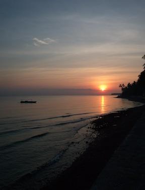 Sunrise at Bali Mandala