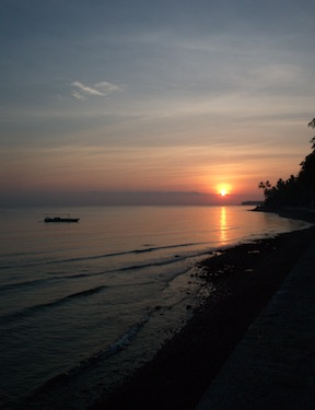Sonnenaufgang Bali Mandala
