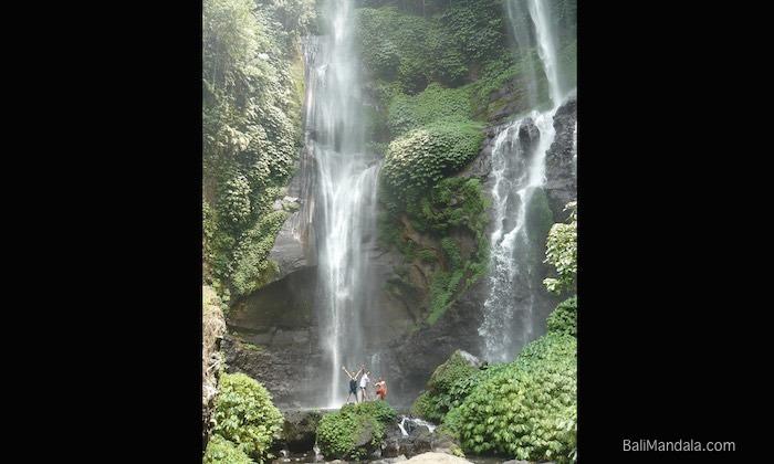 Bild Wasserfall Tour Bali Mandala