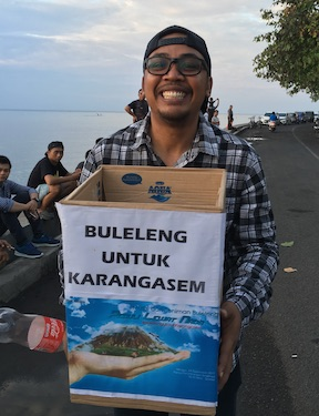 Bali Mandala News - Spenden für Karangasem