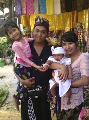 Ewik mit Ihrer Familie